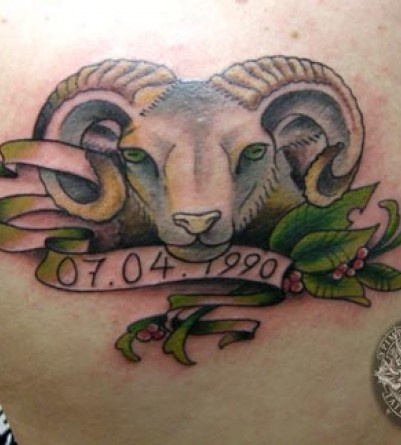 20 Cool Aries Tattoos Hative