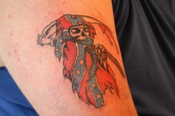 30 Cool Rebel Flag Tattoos  Hative
