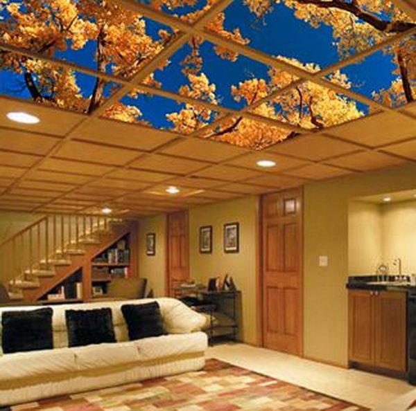20+ Cool Basement Ceiling Ideas