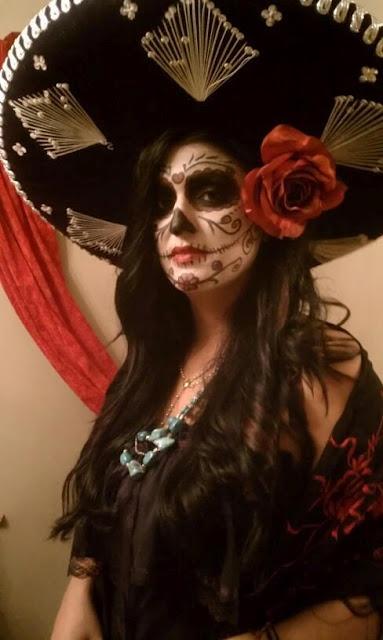 20 Cool Da de los Muertos Sugar Skull Makeup Art Examples
