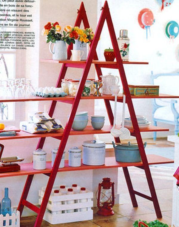 Best Ladder Bookshelf For Your Interior Ideas Fl Arrangement Decorating With