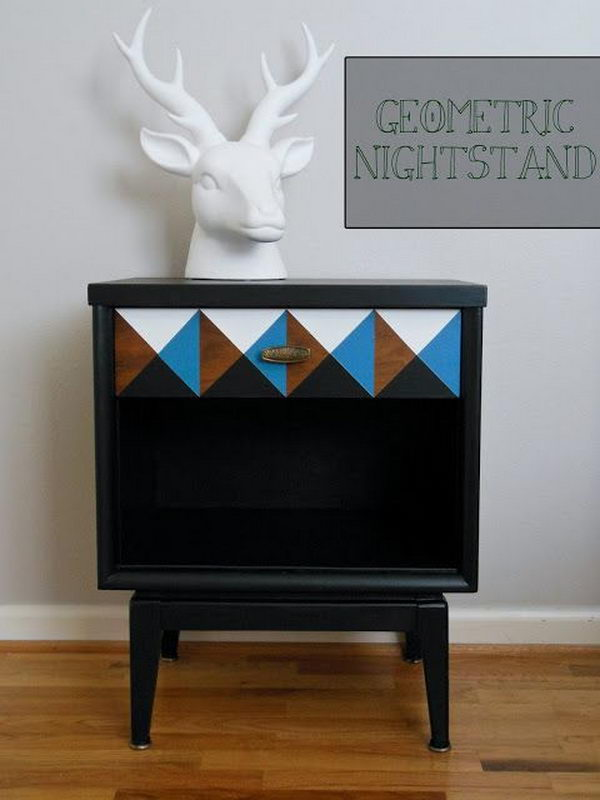 30 Creative Nightstand Ideas For Home Decoration Hative