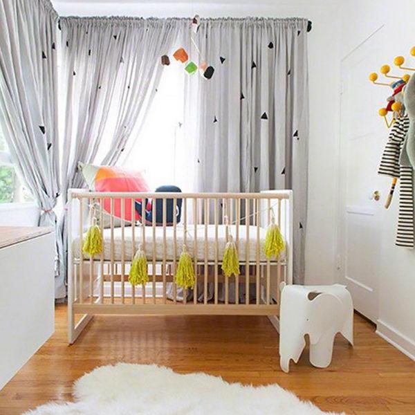 Baby Girl Floral Wallpaper 20 Cute Nursery Decorating Ideas Hative