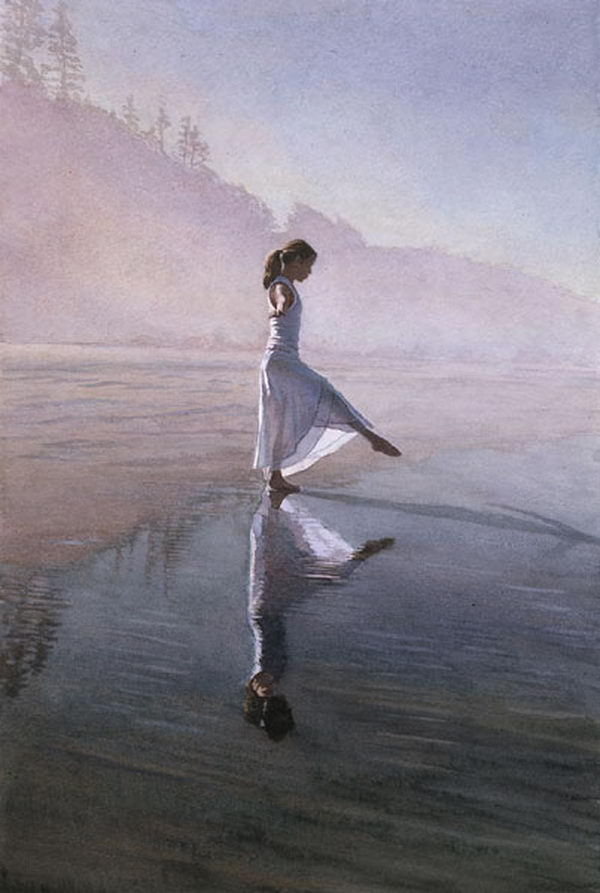 Steve Hanks Watercolor Paintings Hative