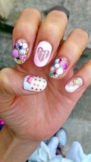 cool 3d nail art - hative