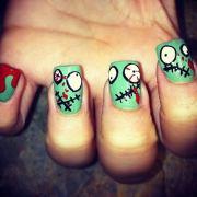 cool halloween nail art ideas