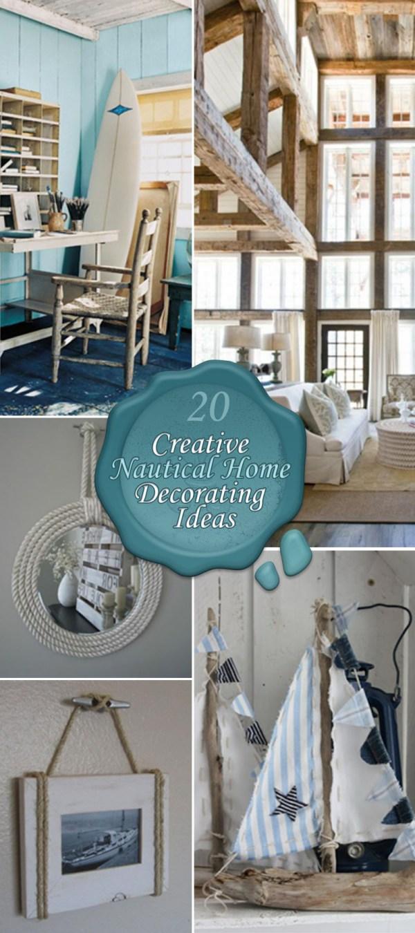 Nautical Home Decorating Ideas