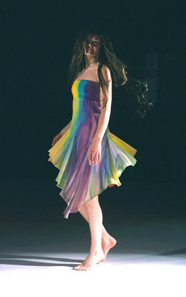 30 Gorgeous Rainbow Colored Dress Designs  Hative