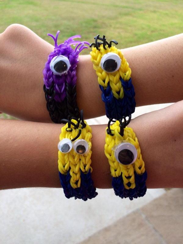 20 Cool DIY Rainbow Loom Bracelets for Kids  Hative