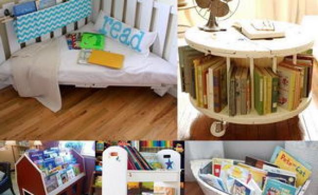 15 Creative Book Storage Ideas For Kids Hative