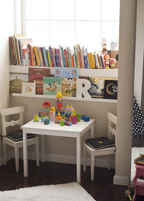 15 Creative Book Storage Ideas for Kids
