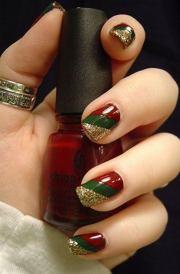 cool christmas nail design