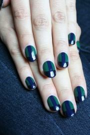 green nail design - hative