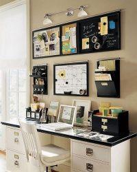 20 Creative Home Office Organizing Ideas - Hative