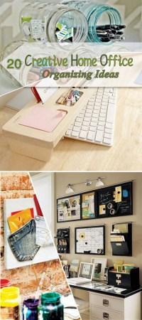 21 Innovative Creative Office Organization | yvotube.com