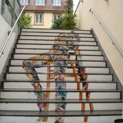 Kitchen Makeovers Ideas Aid Icemaker 20 Awesome Stairs Street Art - Hative