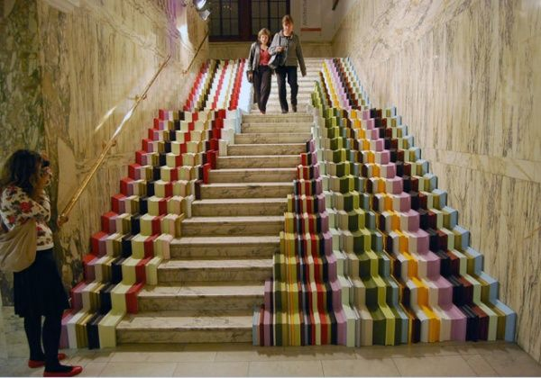 easy kitchen backsplash wire rack 20 awesome stairs street art - hative
