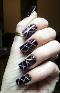 Cool Stripe Nail Designs