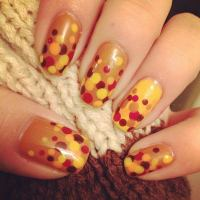 30 Cool Thanksgiving and Fall Nail Designs - Hative