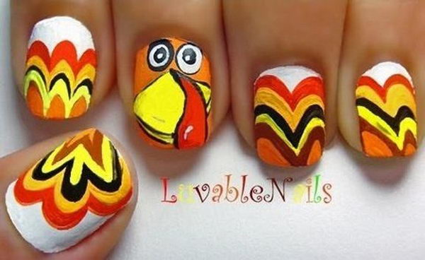 Cool Thanksgiving And Fall Nail Designs An Interesting Way To Dress Up Your Look For
