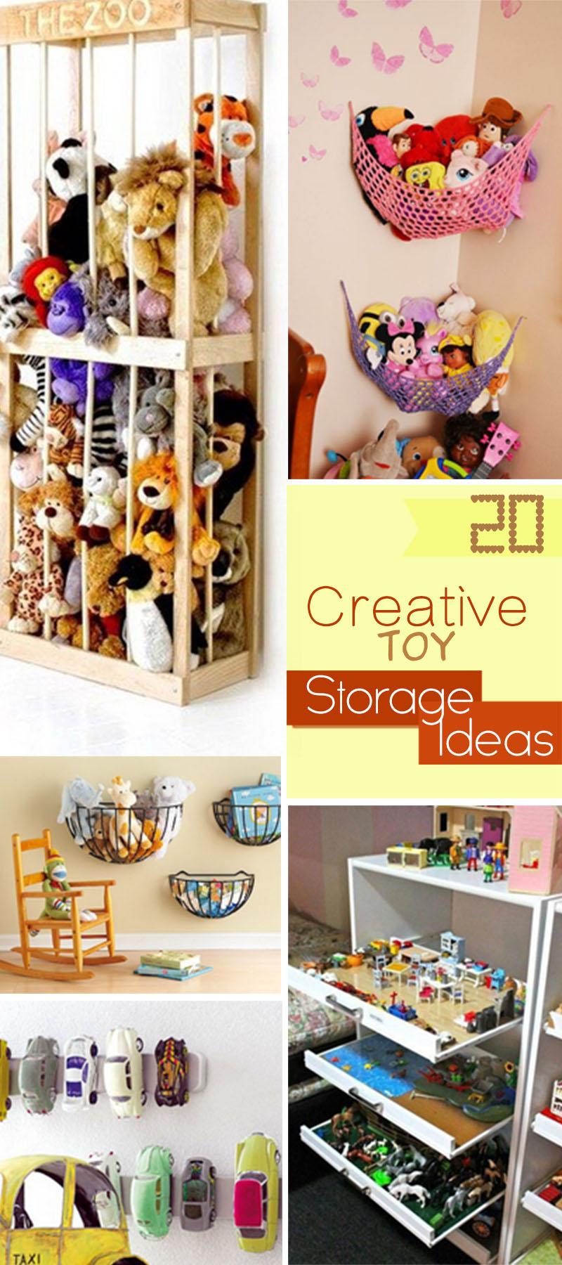 20 Creative Toy Storage Ideas  Hative