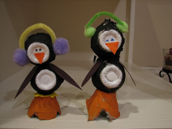 Cute Christmas Penguin Crafts For Kids Hative