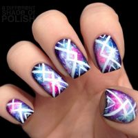 Cool Tribal Nail Art Designs