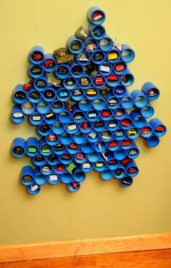 DIY PVC Pipe Storage Ideas Hative