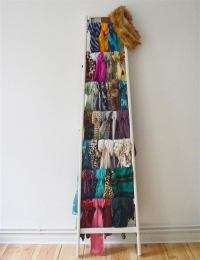 30 Creative Scarf Storage & Display Ideas