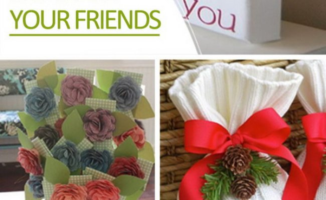 Diy Gift Ideas For Your Friends Hative
