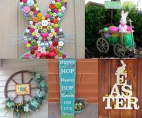 Creative Easter Outdoor Decoration Ideas - Hative