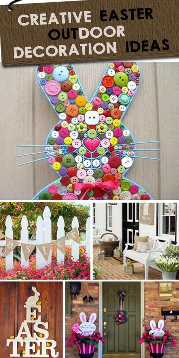 Creative Easter Outdoor Decoration Ideas