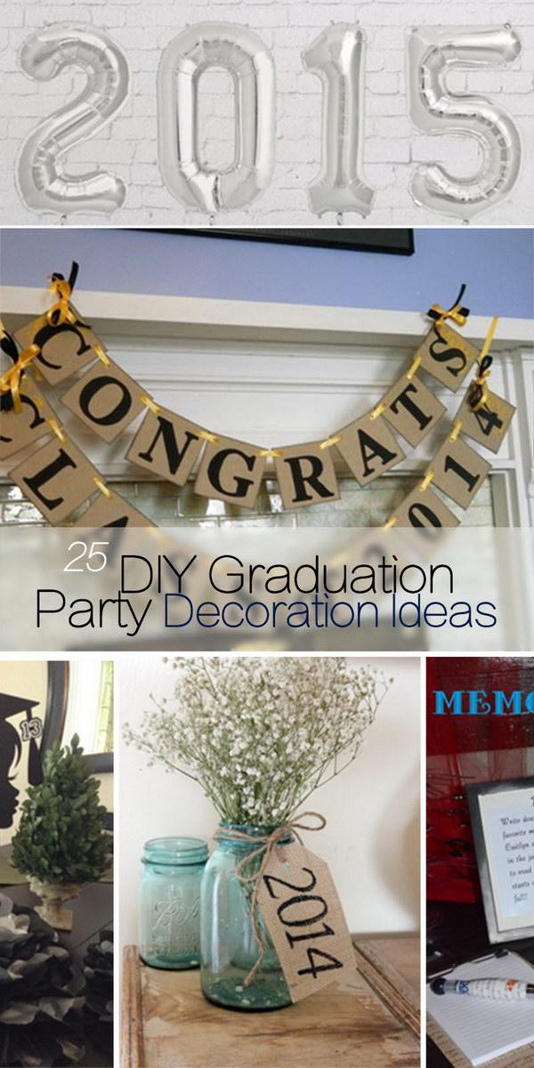 25 diy graduation party