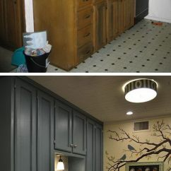 Kitchen Makeovers Diy Refinish Cabinets Before And After 25 Budget Friendly Makeover Ideas Hative Teeny Tiny Cheap