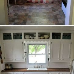 Inexpensive Kitchen Island Counter Top Ideas Before And After: 25+ Budget Friendly Makeover ...