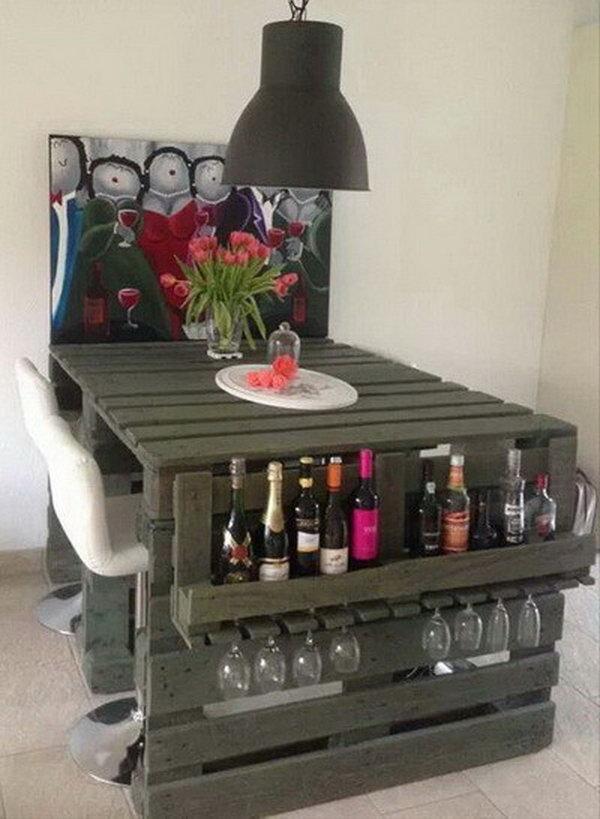 15 Cool and Budget DIY Wine Bars - Hative