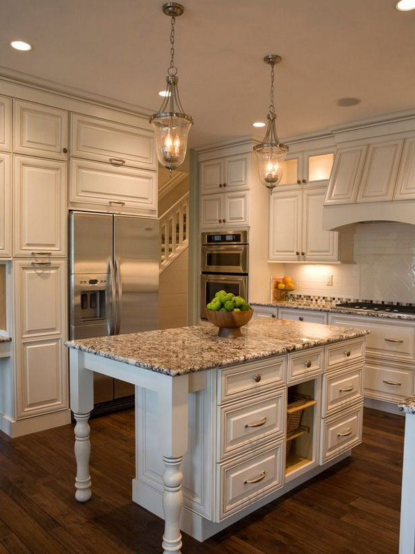 Average Cost Of Granite Countertop 20+ Cool Kitchen Island Ideas - Hative