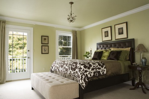pale green color scheme for bedroom 45 Beautiful Paint Color Ideas for Master Bedroom - Hative
