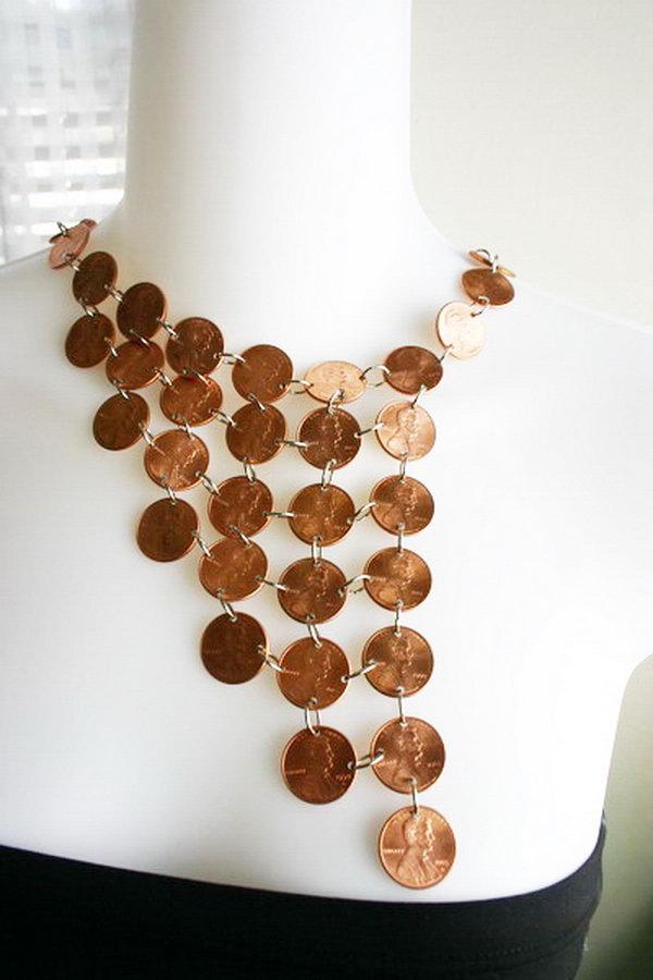 20 Cool DIY Penny Crafts  Hative