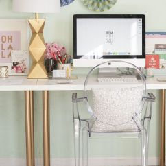 Ghost Chairs Cheap Poang Chair India 20+ Cool And Budget Ikea Desk Hacks - Hative