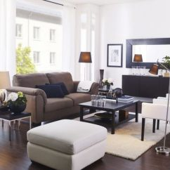 Ikea Living Rooms Ideas Open Floor Plan Kitchen Room Design 15 Beautiful Hative With Distinctive Frames And Shapes Mirrors Can Really Enhance Your Decor Larger Wall
