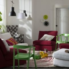 Ikea Small Living Room Chairs Interior Design India Photos 15 Beautiful Ideas Hative Cheered Up By Colors Bring Some Brightness Into Your With