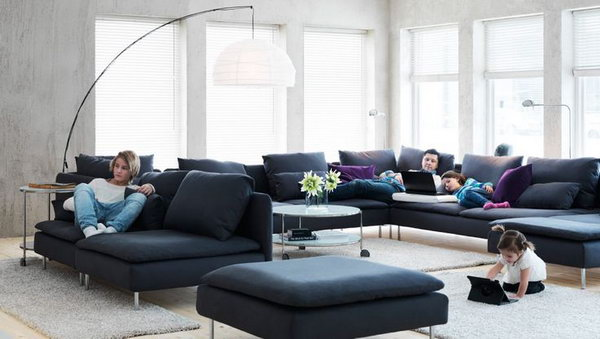 big sofa small living room designs with tv 15 beautiful ikea ideas hative in this everyone can have his