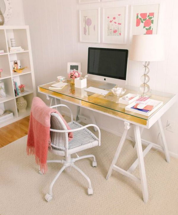 15 DIY Computer Desk Ideas  Tutorials for Home Office