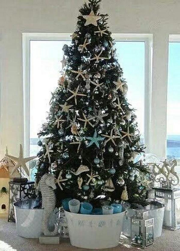 Coastal Christmas Ornaments On Sale