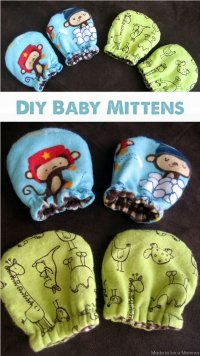 60 Simple & Cute Things Or Gifts You Can DIY For A Baby ...
