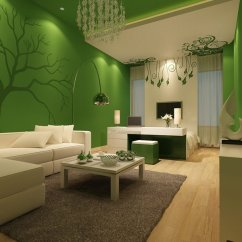 Green Living Room Walls Wall Pretty Colors For Inspiration Hative Grass And Creamy White Painting