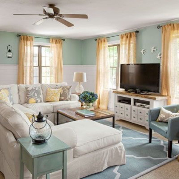 Pretty Living Room Colors For Inspiration