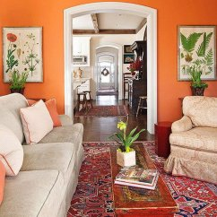 Orange Cafe Chairs Chair Armrest Protectors Pretty Living Room Colors For Inspiration - Hative