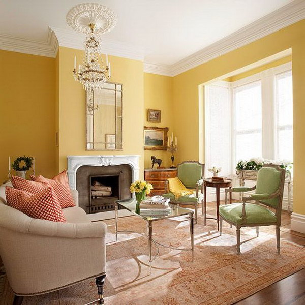 living room colors decor ideas grey walls pretty for inspiration hative bright with yellow painted wall